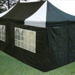 10 x 20 Black and White Pop Up Tent