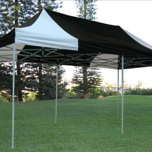 10 x 20 Black & White Pop Up Tent 5