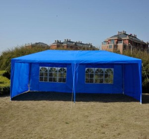 10 x 20 Blue Party Tent Canopy 01-0292
