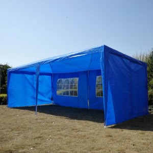 10 x 20 Blue Party Tent Canopy 2