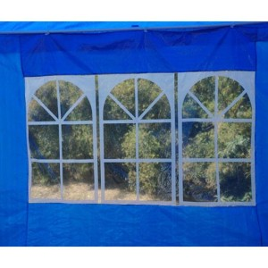10 x 20 Blue Party Tent Canopy 6
