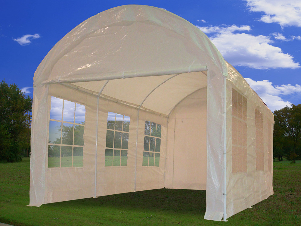 & 10 x 20 Carport Dome Shelter