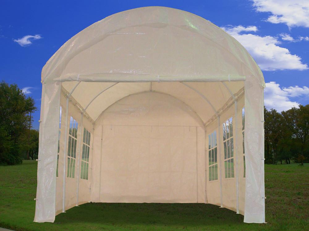 Acrylic Car Shelters : Carport dome shelter