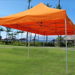 10 x 20 Orange Pop Up Tent Canopy Gazebo 2