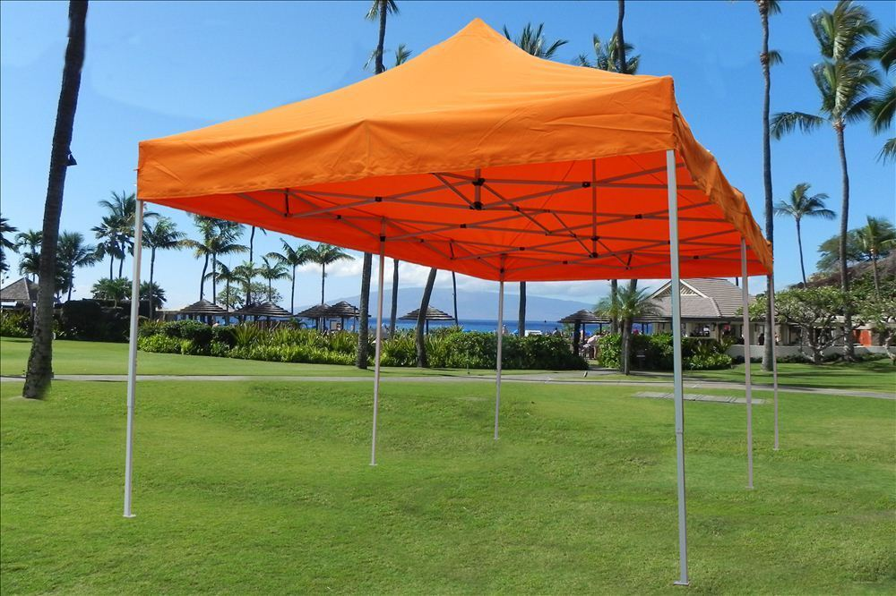 10 X 20 Pop Up Tent Canopy Gazebo W 6 Sidewalls 9 Colors