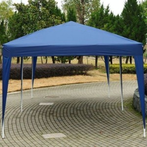 10 x 20 Pop Up Canopy Gazebo Blue 2