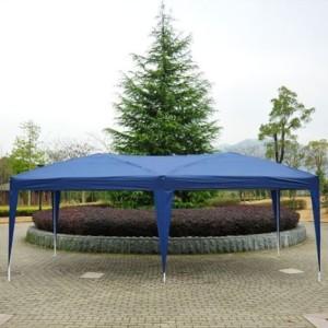 10 x 20 Pop Up Canopy Gazebo Blue