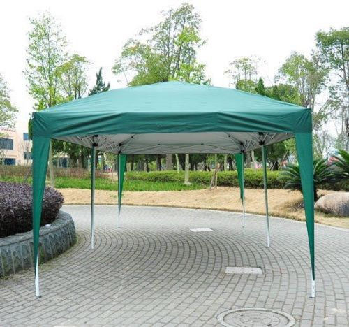 10 x 20 pop up canopy gazebo green 2 - 10x20 Pop Up Canopy
