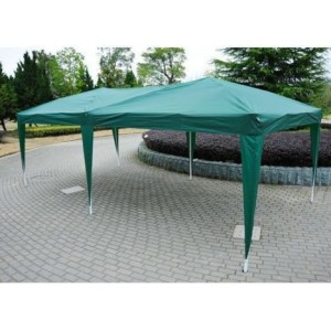 10 x 20 Pop Up Canopy Gazebo Green