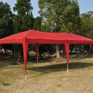 10 x 20 Pop Up Canopy Gazebo Red