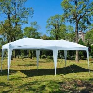 10 x 20 Pop Up Canopy Gazebo White
