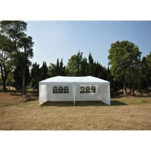 10 x 20 Pop Up Tent 4 Wall White
