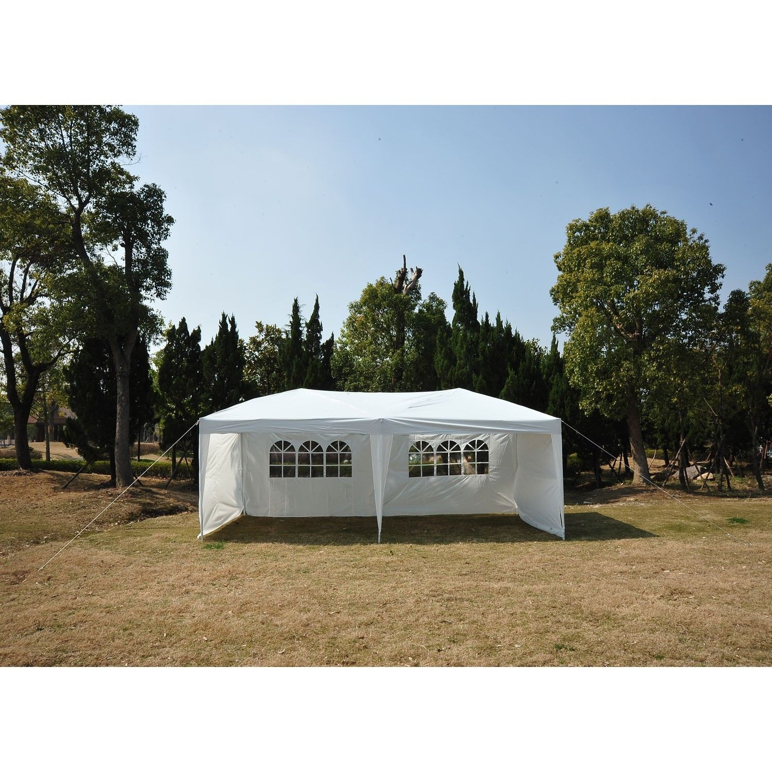 10 x 20 Pop Up Tent 4 Wall White  sc 1 st  Wholesale Event Tents & 10 x 20 Pop Up Tent Canopy w/ 4 Sidewalls - 5 Colors -