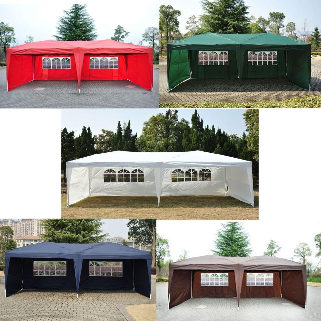 10 x 20 Pop Up Tent 4 Walls Main Image