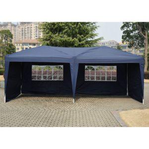 10 x 20 Pop Up Tent Blue