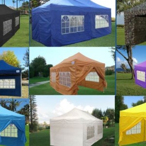 10 x 20 Pop Up Tent Canopy E-Model Main Image