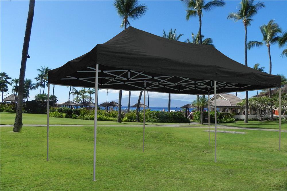 10 X 20 Pop Up Tent Gazebo Canopy W 6 Sidewalls 9 Colors
