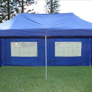 10 x 20 Blue Pop Up Tent Canopy Gazebo 2