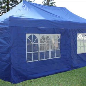 10 x 20 Blue Pop Up Tent Canopy Gazebo