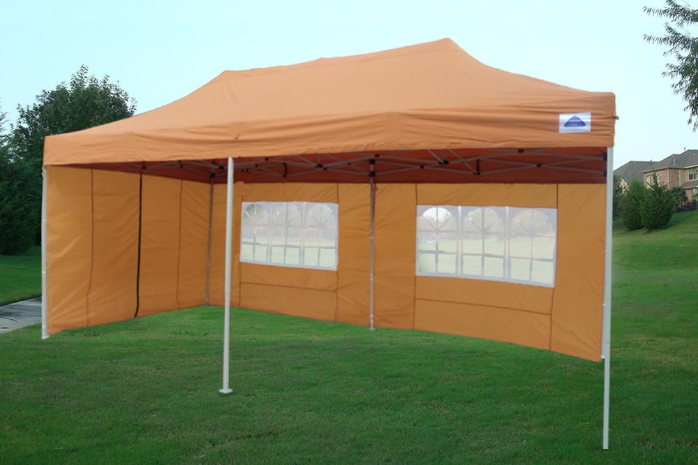 10 X 20 Pop Up Tent Gazebo Orange 2