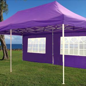 10 x 20 Purple Pop Up Tent Canopy Gazebo2