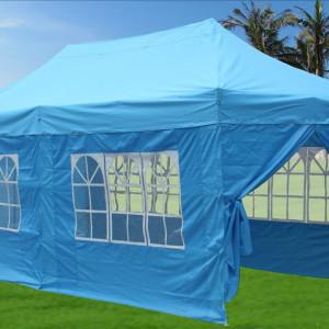 10 x 20 Sky Blue Pop Up Tent Canopy Gazebo