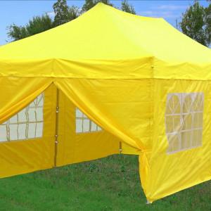 10 x 20 Yellow Pop Up Tent Canopy Gazebo