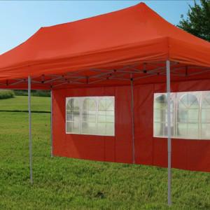 10 x 20 Red Pop Up Tent Canopy Gazebo 3