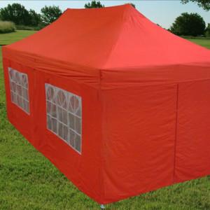 10 x 20 Red Pop Up Tent Canopy Gazebo