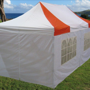 10 x 20 Red and White Pop Up Tent