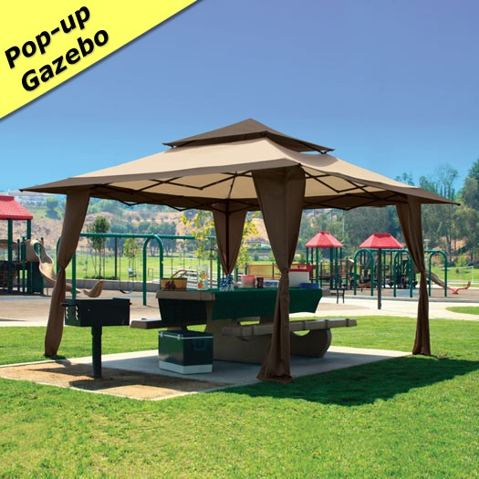 13 X 13 Pagoda Pop Up Gazebo Canopy