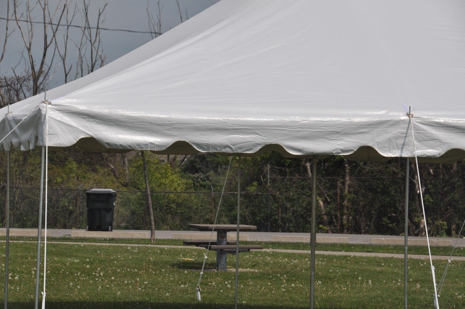 20 x 20 commercial grade party tent