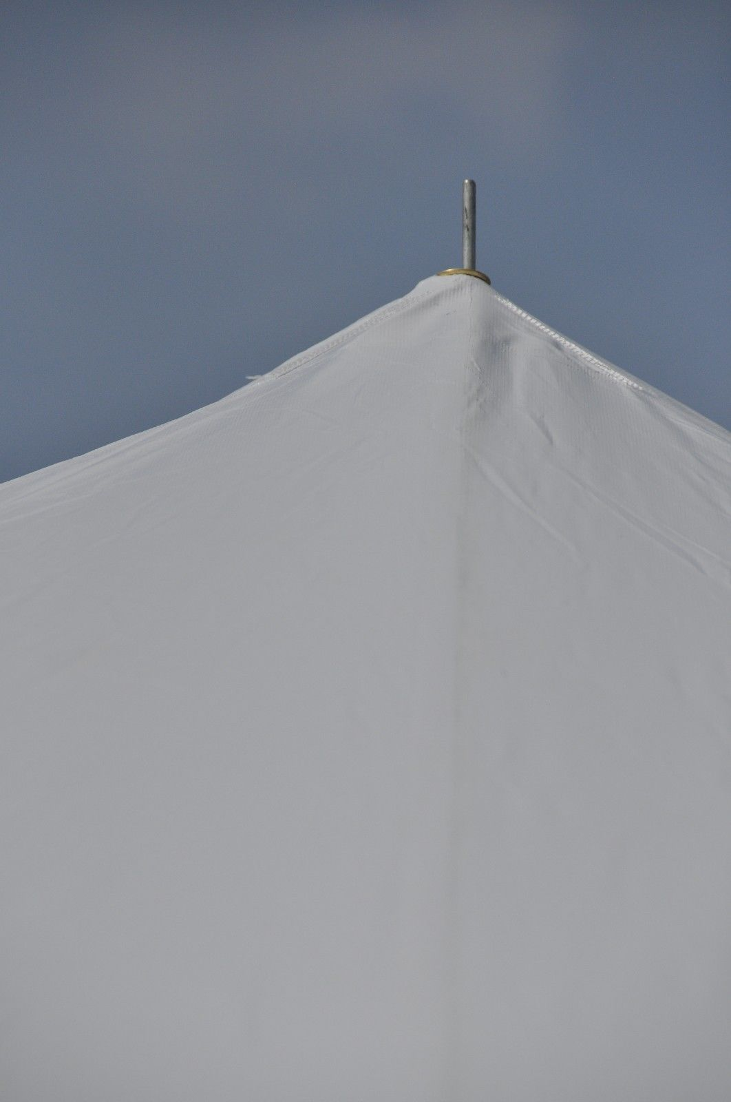 20 X 20 White Pole Tent Canopy Commercial Grade