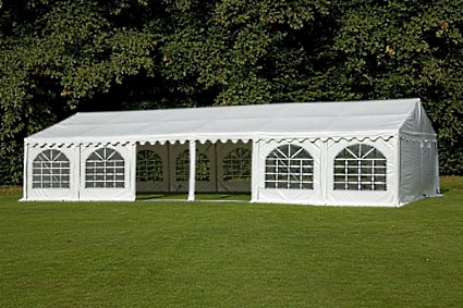 & 20 x 40 White PVC Party Tent Canopy