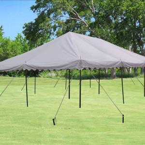 30 x 20 White PVC Pole Tent 3