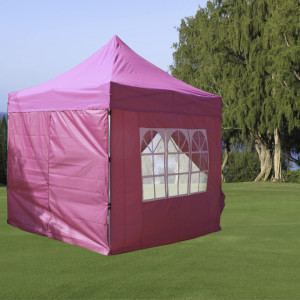 8 x 8 Pink Basic Pop Up Tent