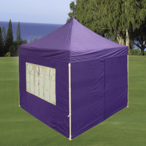 8 x 8 Purple Basic Pop Up Tent