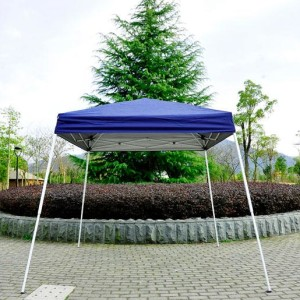 8 x 8 Slant Leg Pop Up Canopy Blue