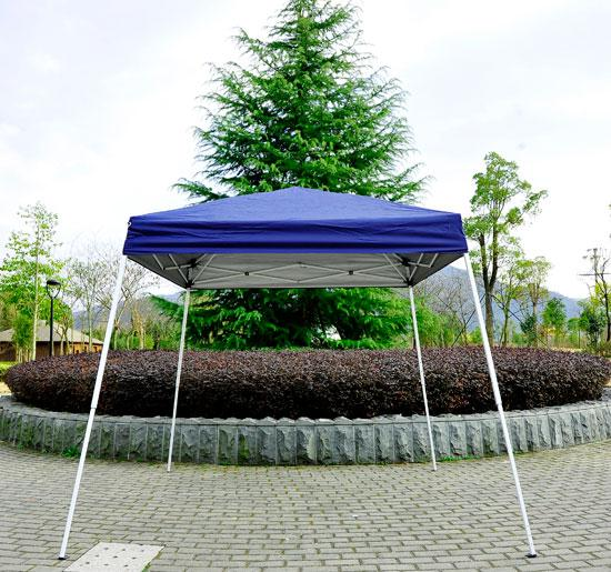 8 x 8 Slant Leg Pop Up Canopy Blue & 8 x 8 Slant Leg Pop Up Canopy - Multiple Colors -