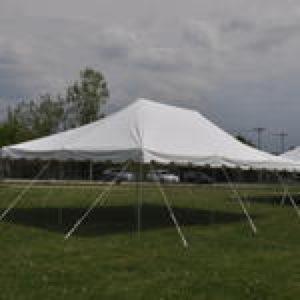 20 x 30 White Pole Tent 2