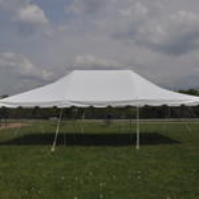 Party Tents For Sale 20x30 >> 20 X 30 White Pole Tent Canopy