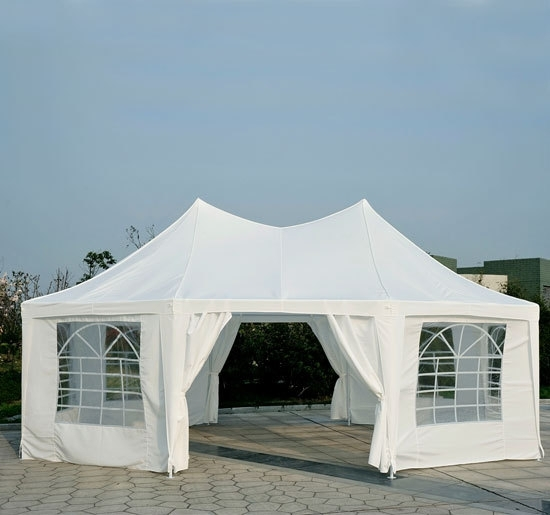 22 x 16 party tent gazebo canopy. Black Bedroom Furniture Sets. Home Design Ideas