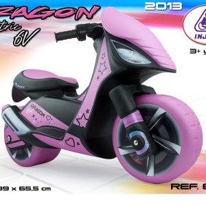Injusa Dragon Scooter Pink 2