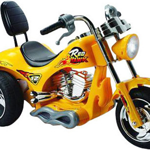 Mini Motos Red Hawk Motorcycle Yellow 2