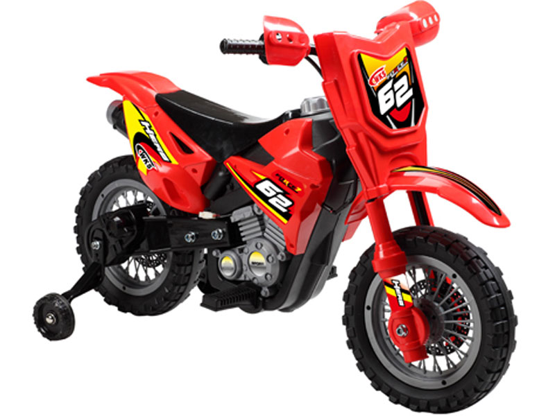 Mini Motos Dirt Bike 6v Power Wheel Red