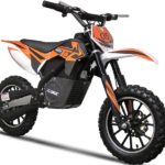 MotoTec Electric Dirt Bike Orange