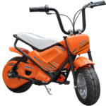 MotoTec Electric Mini Bike Orange