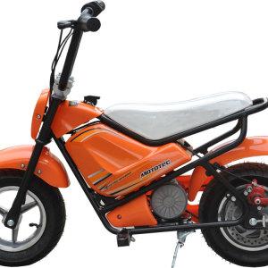 MotoTec Electric Mini Bike Orange 2