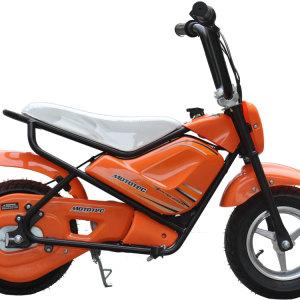 MotoTec Electric Mini Bike Orange 3