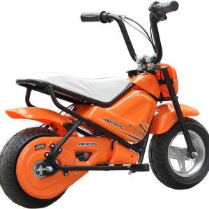MotoTec Electric Mini Bike Orange 4